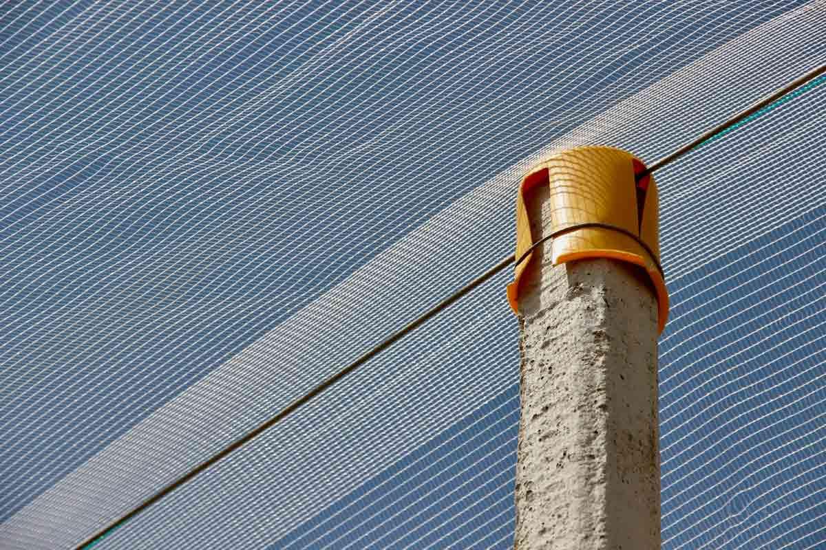 Concrete pole cover
